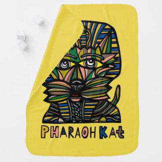 """""""Pharaoh Kat"""" Baby Blanket"""