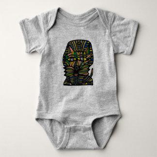 """""""Pharaoh Kat"""" Baby Jersey Bodysuit"""