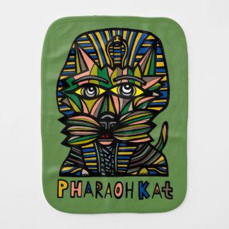 """""""Pharaoh Kat"""" Burp Cloth"""