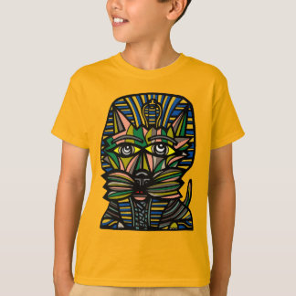 """Pharaoh Kat"" Kids' Hanes TAGLESS® T-Shirt"