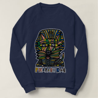 """Pharaoh Kat"" Women's American Apparel Sweatshirt"