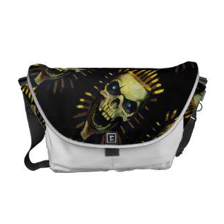 Pharaoh skull messenger bag