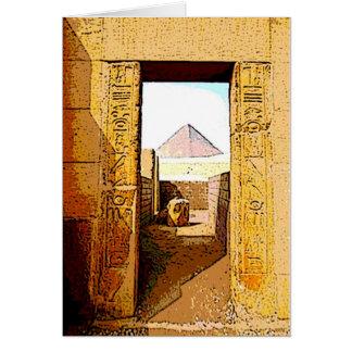 Pharaoh's Door - Card