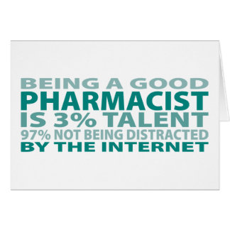 Pharmacist 3% Talent Card