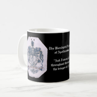 Pharmacist / Apothecary Coat of Arms Coffee Mug