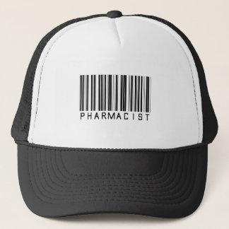 Pharmacist Bar Code Trucker Hat