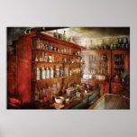Pharmacist - Behind the scenes Print