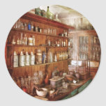 Pharmacist - Behind the scenes Round Sticker