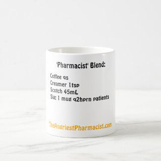 'Pharmacist' Blend Coffee Mug