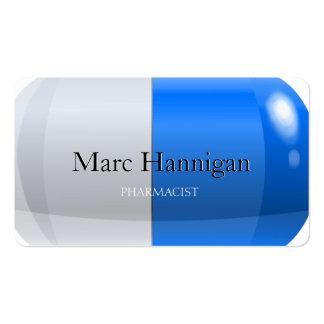 PHARMACIST - blue pill pharmacy Business Cards