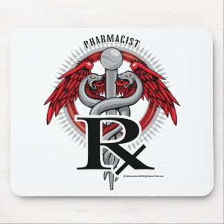 Pharmacist Caduceus Mouse Pad
