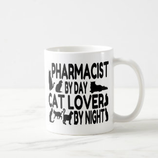 Pharmacist Cat Lover Basic White Mug