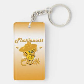 Pharmacist Chick #10 Key Ring