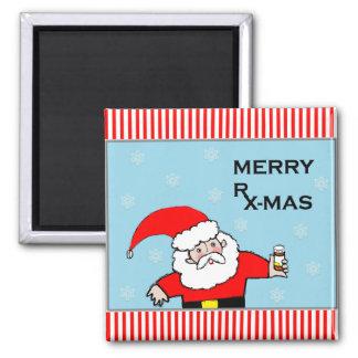 pharmacist Christmas Magnet