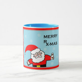 pharmacist Christmas Mug
