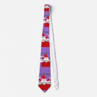 Pharmacist Christmas Tie For Men