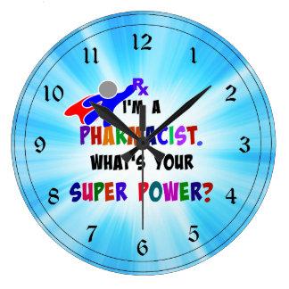 Pharmacist Humor Large Clock