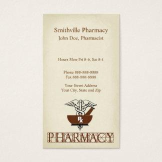 Pharmacist Pharmacy Business Card