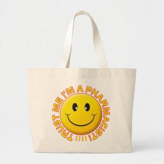 Pharmacist Trust Me Smiley Jumbo Tote Bag
