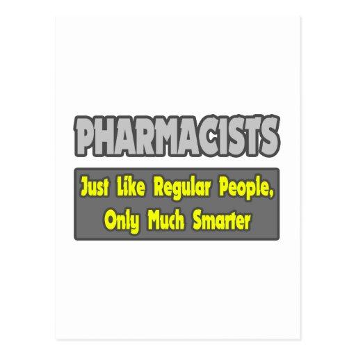 Pharmacists...Smarter Postcards