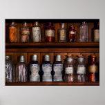 Pharmacy - Bonafide Cures Print