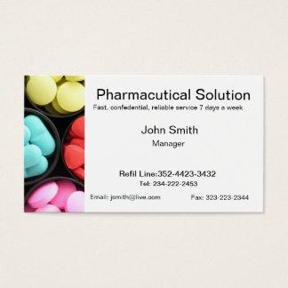 Pharmacy business card