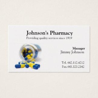Pharmacy Business Card Pharmacist