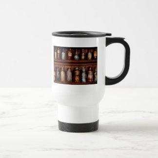 Pharmacy - Caution Don't mix together Mug