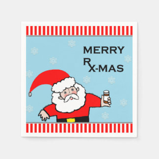 pharmacy Christmas party Disposable Napkins