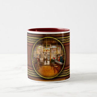 Pharmacy - Congdon's Pharmacy 1910 Two-Tone Coffee Mug