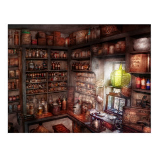 Pharmacy - Equipment - Merlin's Study Postcard