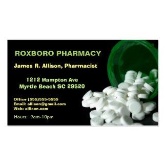 Pharmacy Meds Business Cards