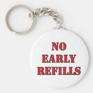 Pharmacy - No Early Refills Key Ring