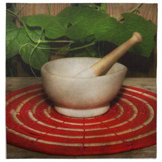 Pharmacy - Pestle - The herbalist Napkin