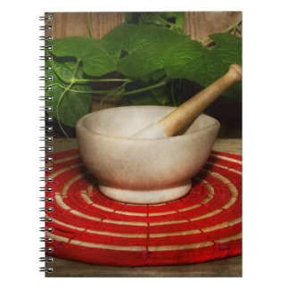 Pharmacy - Pestle - The herbalist Notebook