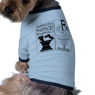 Pharmacy Pharmacist LOGO Pet T Shirt