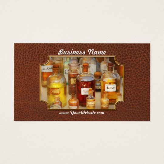 Pharmacy - Serums and Elixirs Business Card