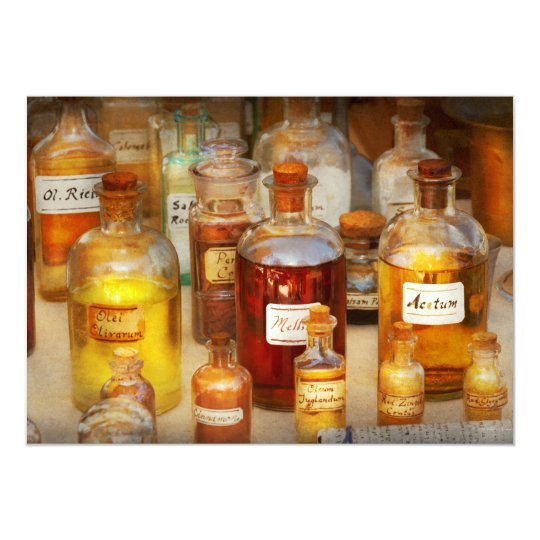Pharmacy - Serums and Elixirs Card