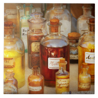 Pharmacy - Serums and Elixirs Ceramic Tile