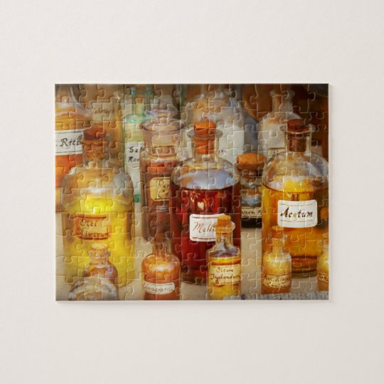 Pharmacy - Serums and Elixirs Jigsaw Puzzle