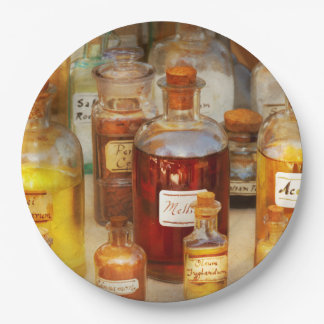 Pharmacy - Serums and Elixirs Paper Plate