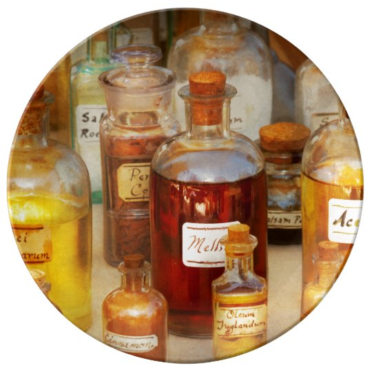 Pharmacy - Serums and Elixirs Porcelain Plates