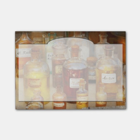 Pharmacy - Serums and Elixirs Post-it® Notes