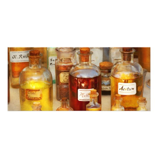 Pharmacy - Serums and Elixirs Rack Card