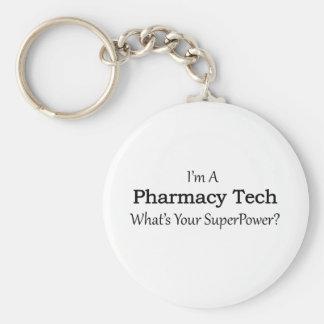 Pharmacy Tech Key Ring