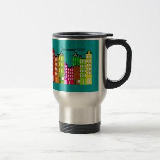 Pharmacy Tech Travel mug Retro Art