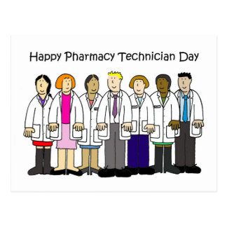 Pharmacy Technician Day Postcard