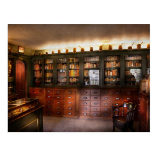 Pharmacy - The Apothecary Shop Postcard