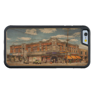 Pharmacy - The corner drugstore 1910 Carved Maple iPhone 6 Bumper Case