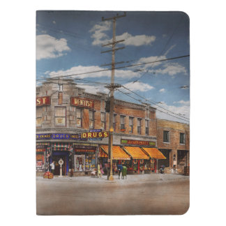 Pharmacy - The corner drugstore 1910 Extra Large Moleskine Notebook